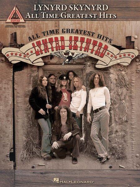 Lynyrd Skynyrd All-Time Greatest Hits Sheet Music Guitar Tablature Boo 000690955