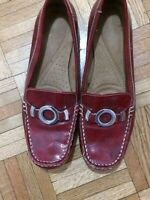 Naturalizer Women Red Shoes ** Almost New **  Size 8