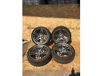 """BMW 3 SERIES 313 """"19"""" ALLOY WHEELS AND TYRES"""
