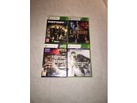 Various XBOX 360 Games good condition