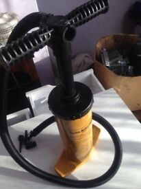 Double Action Hand Pump For Airbeds Beach Balls etc... Good Condition Can Deliver