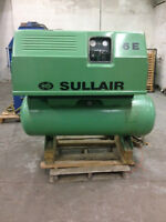 Sulair 6E 10HP Rotary Screw Compressor with tank. $2900 OBO