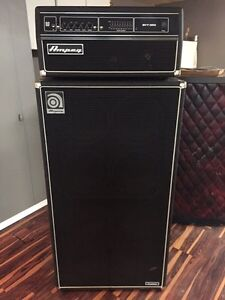 Ampeg SVT350 and 8x10 cab