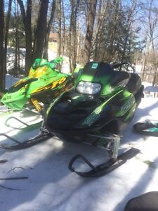 2004 ZR 900 and 2004 Firecat 600 for sale