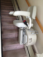 "Stair lift for 15' 6"" straight stairs or shorter"