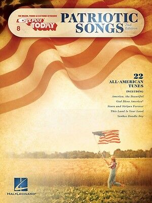 Patriotic Songs 2Nd Edition Sheet Music E Z Play Today Book New 000100490