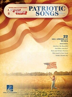 Patriotic Songs 2nd Edition Sheet Music E-Z Play Today Book NEW 000100490