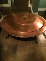Solid Copper Fire Bowl