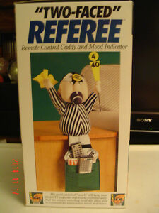 "FOOTBALL ""BAD/GOOD CALL REFEREE REMOTE CADDY"" FOR THE BIG GAME Windsor Region Ontario image 3"
