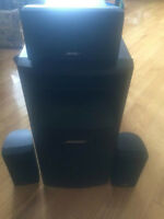Bose Acoustimass 10 Series IV plus Speaker Stands