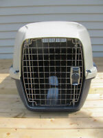 Dog crate 26 x 19 x 17 inches $48