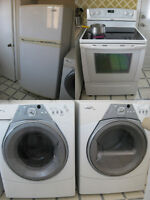 4 Whirlpool® Gold Appliances (Washer, Dryer, Fridge and Stove)