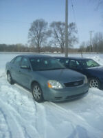 2005 Ford Five Hundred Cert and E-tested 100%