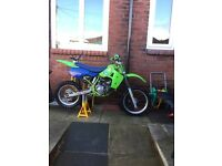 Kx 80. Kawasaki not pit bike. 1986/89
