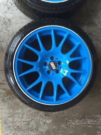 "BBS CH reps for sale 18"" x 9"" alloys"