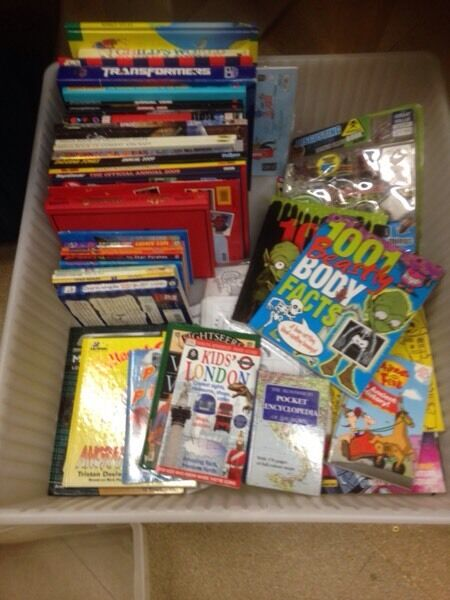 Collection of boys books