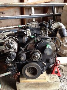 24V Cummins Rebuilable Engine.