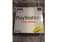 PlayStation 1 boxed and complete with original packaging