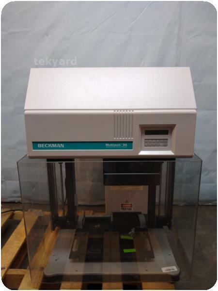 BECKMAN MULTIMEK 96 AUTOMATED 96 CHANNEL PIPETTOR @ (243539)
