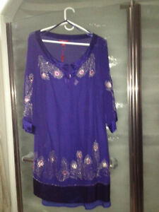 UK Monsoon Collection Embroidered Dress
