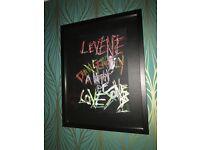 Original Art by Keith Levene (Original Clash / PIL Guitarist)