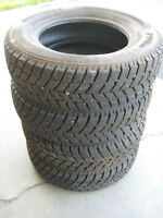Just Like new-4 P175/70R13 Hankook I pike winter tires with snow
