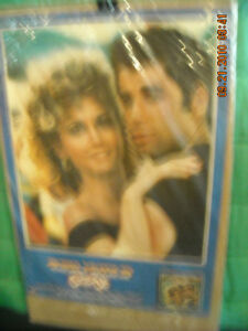 Grease Movie Poster with John Travolta & Olivia Newton-John Peterborough Peterborough Area image 3