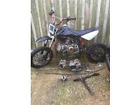 160 pit bike spares repairs £120 read add