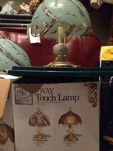 Two way touch lamps never used in there boxes