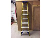 Werner swing back step ladder