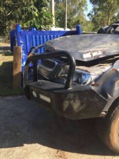 *****2016 Holden Colorado RG  TJM Steel bullbar   Comes as shown
