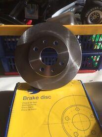Fiat 500 brake discs.