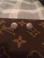 Real diamond earings (gucci,louis vuitton,givenchy)
