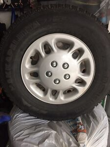 Winter Tires and Rims 235/75R16