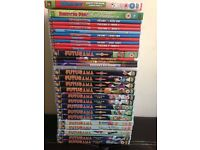 Futurama, American Dad Dvds