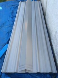 Roofing sheets for sale, box profile pvc coated galvanised steel, 3m x 1m coverage