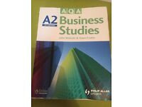 A2 Business Studies Textbook by John Wolinski and Gwen Coates