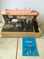 Vintage Brother Charger 651 Pink Sewing Machine