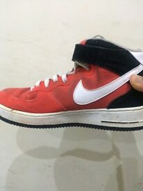 Nike Air Force Mid (Crimson Red)