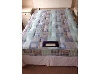 Double divan Slumberland bed