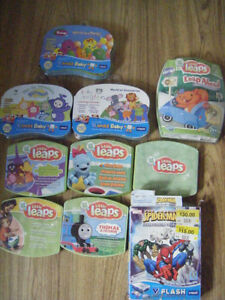 V-Smile and leap frog games for sale