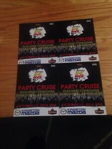 4 tickets for the K-Rock Party Cruise