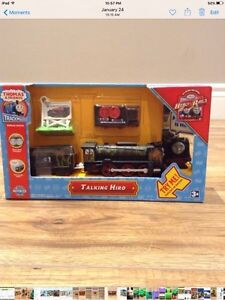 Thomas Trackmaster Talking Hiro/ Filp Face with tracks $30