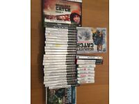 Selection of games PS3 Nintendo ds
