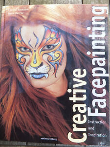 CREATIVE FACEPAINTING INSTRUCTION BOOK