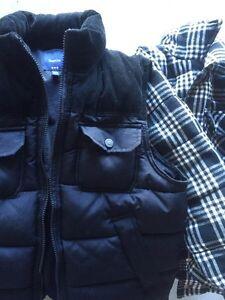 Gap Puffy Vest with Joe brand undercoat