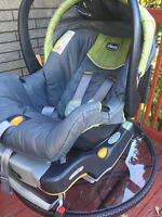 Chicco car seat and base