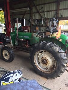 1967 Oliver 550 runs very well Bush hog included London Ontario image 3