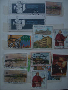 Selling My Stamp Collection--Portugal Macau Lot # 2