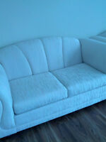 Two Beautiful Identical Cream loveseats for sale! PRICE REDUCED!